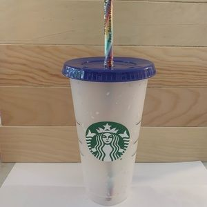 Starbucks Confetti cup